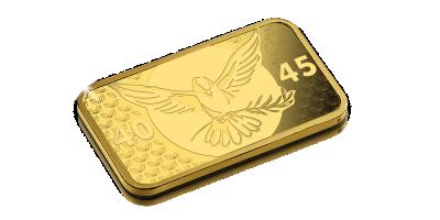 In Gold we Trust- 75 jaar vrede