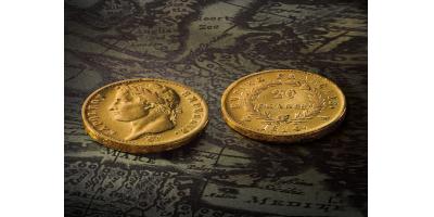 "20 Franken Napoleon   'Empire Francias""  1809-1814"